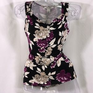 White House Black Market floral top  $36 OBO